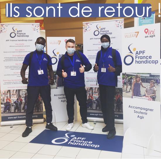 APF France Handicap dans votre Centre Commercial Villejuif7 du 13 au 16 Janvier 2021
